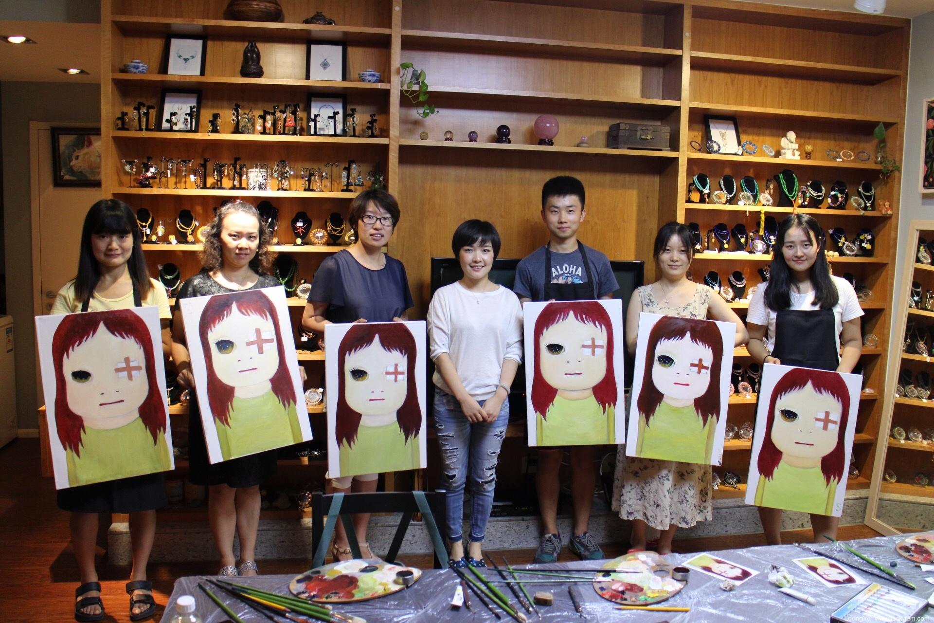 第二期奈良美智《48个女孩之一》